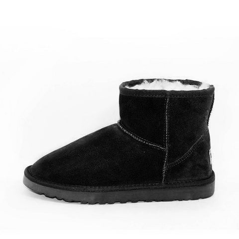 Blair Short Ugg Boot - Grey