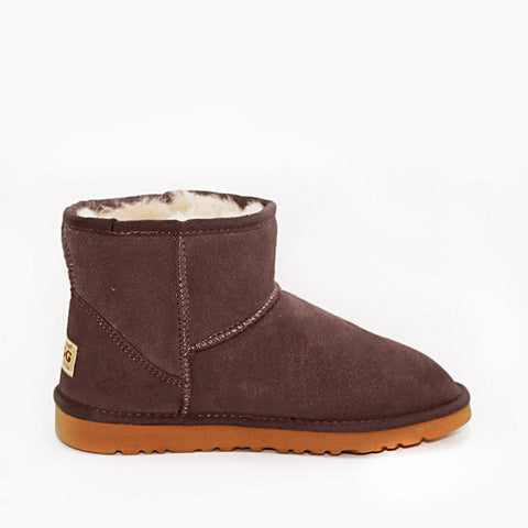 Ankle Ugg Boot - Chocolate