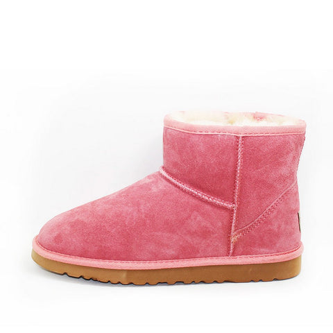 Crystal Medium Ugg Boot - Mushroom
