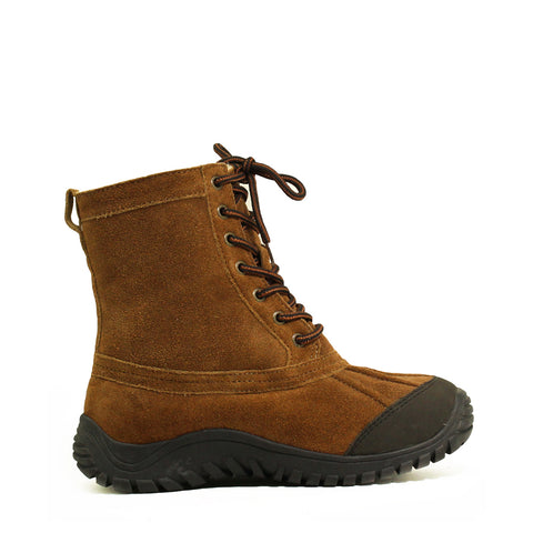 Finest Leather Sheepskin Boot - Chestnut