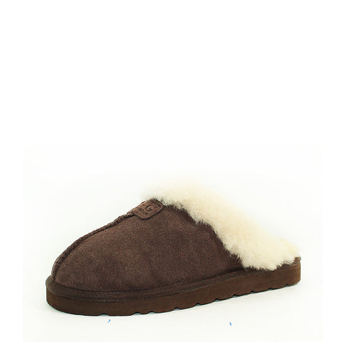 Wool UGG Scuff 501B - Chocolate