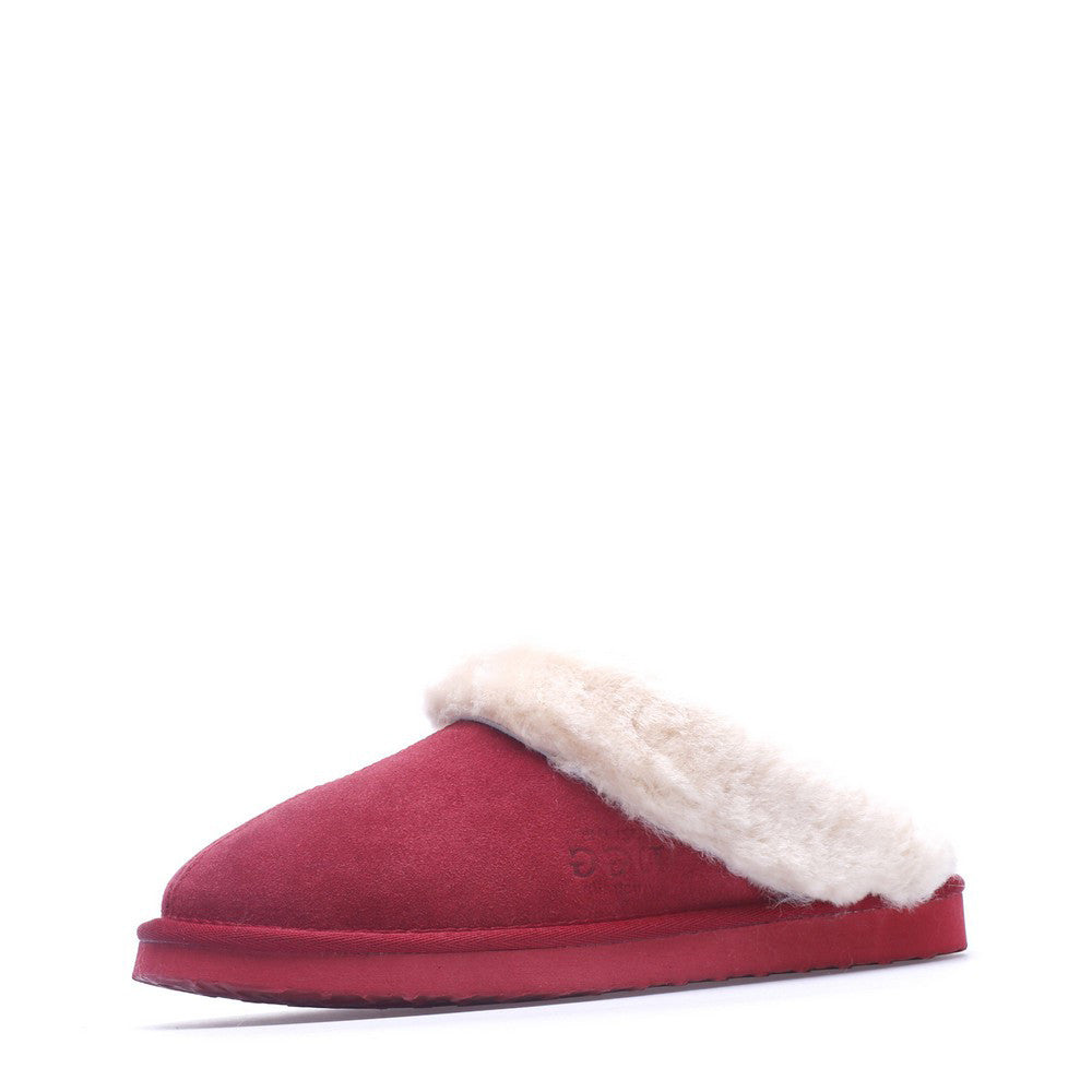 Wool UGG Scuff 501C - Red