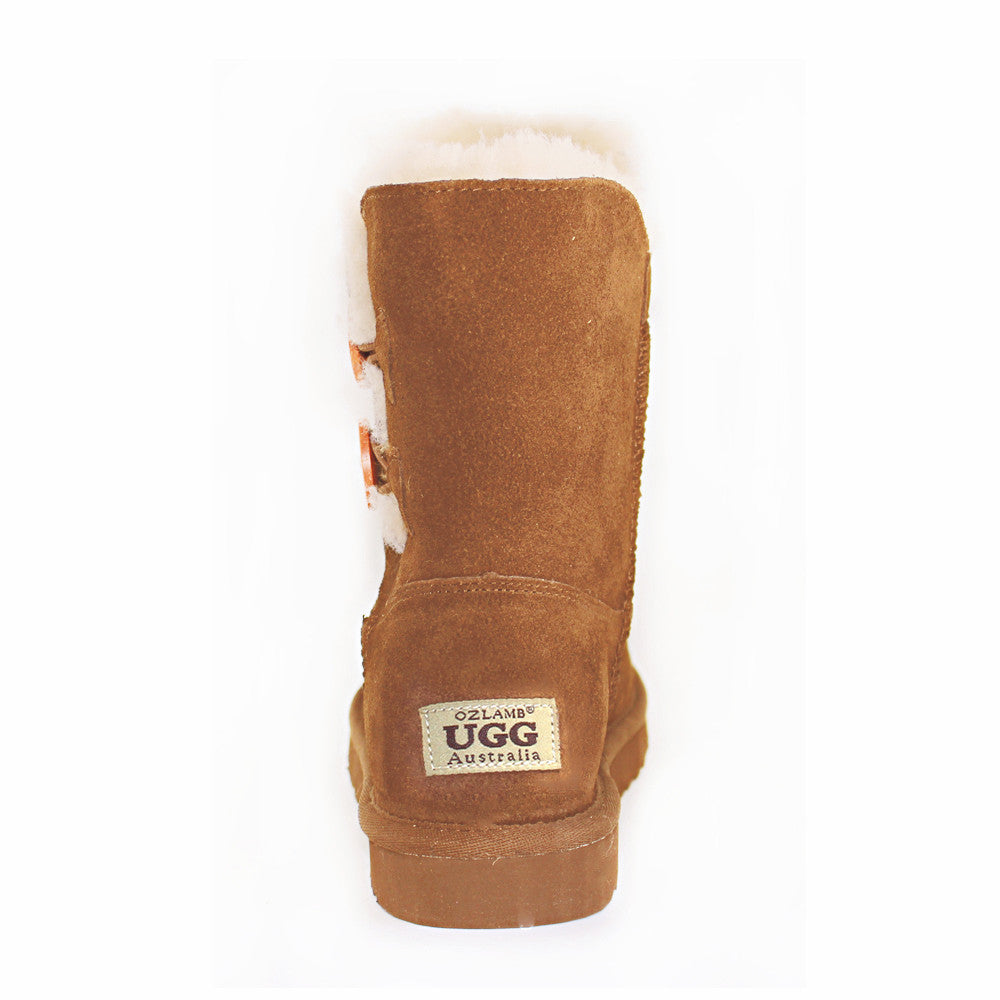 6615df10d12 Two Button Ugg Boot - Chestnut