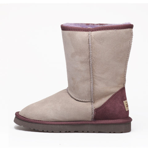 Zuri Classic Medium Ugg Boot - Grey Purple