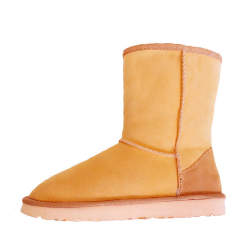 Zuri Classic Medium Ugg Boot - Yellow