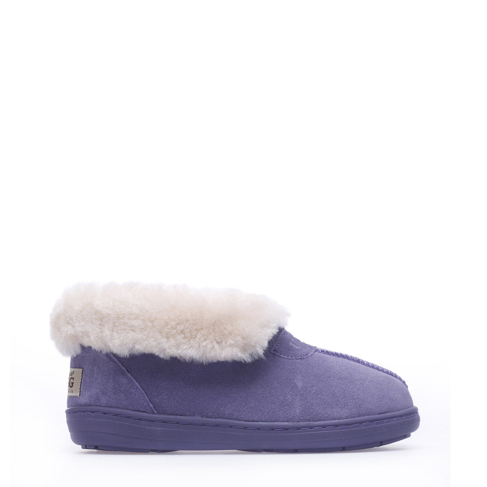 Luxy Ugg Slippers - Purple