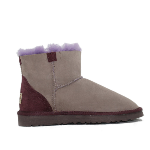 Ever Short Boots - Grey