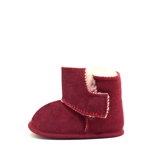 Stax Side Zip Kids Boot - Cherry