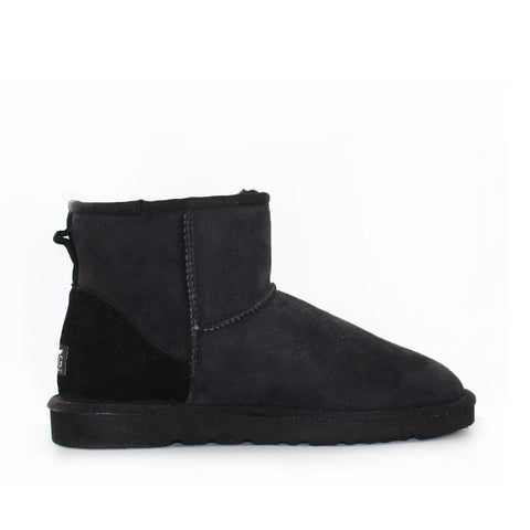 Classic Ankle Ugg Boot - Black