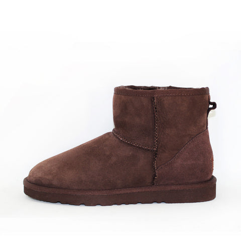 Classic Ankle Ugg Boot - Chocolate