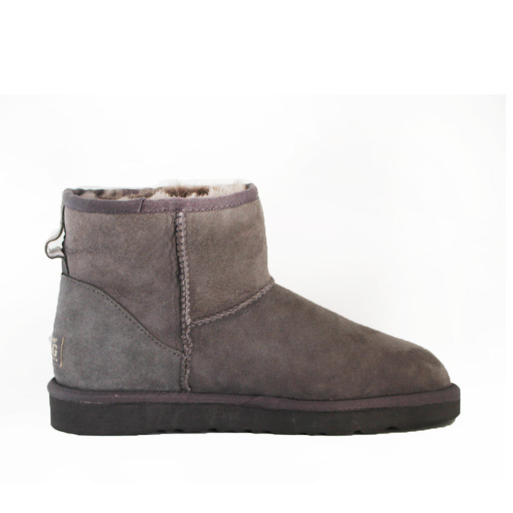 Classic Ankle Ugg Boot - Grey