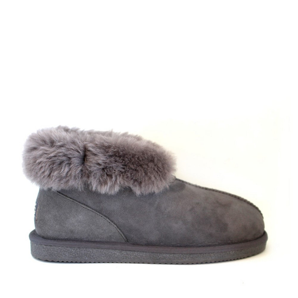 Sheepskin Ugg Slippers - Grey