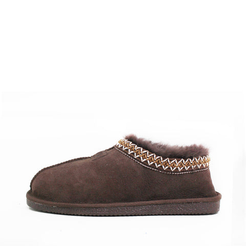 Yani Sheepskin Ugg Slippers - Chocolate