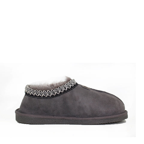 Yani Sheepskin Ugg Slippers - Grey