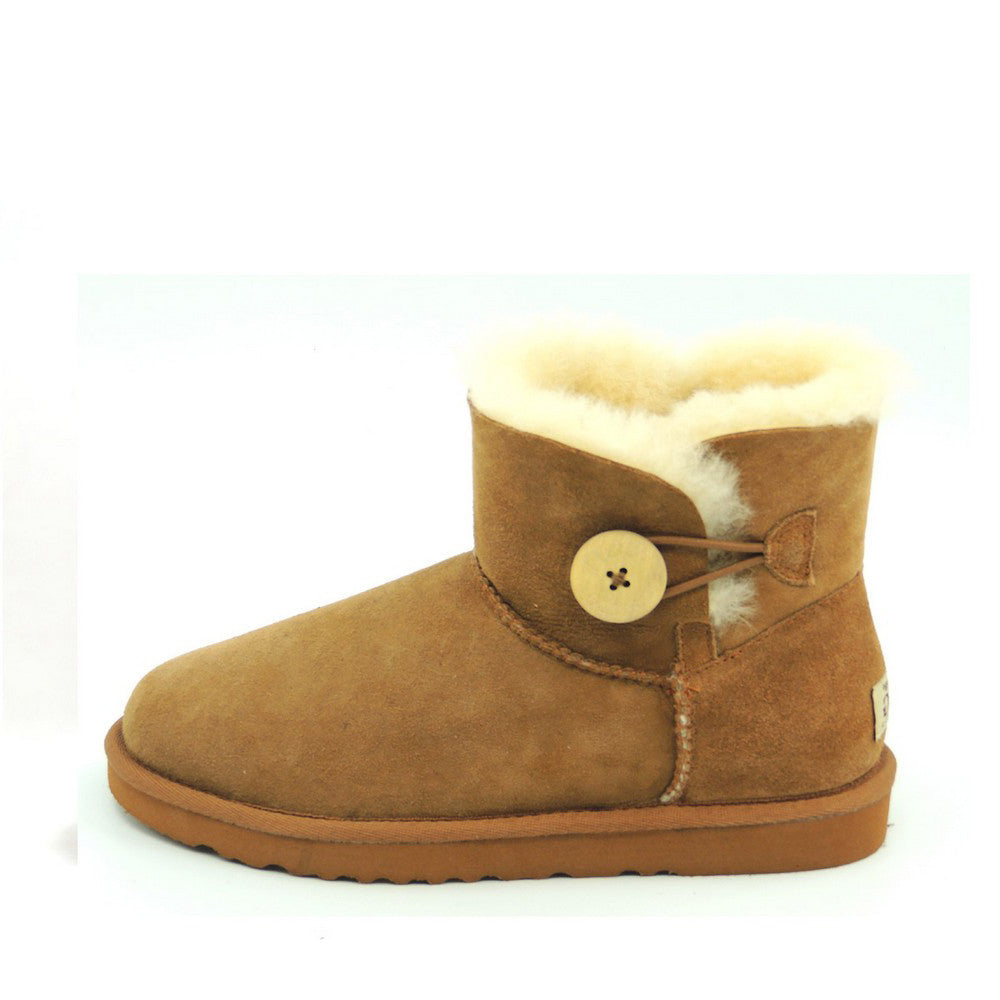 Classic One Button Ugg Boot - Chestnut