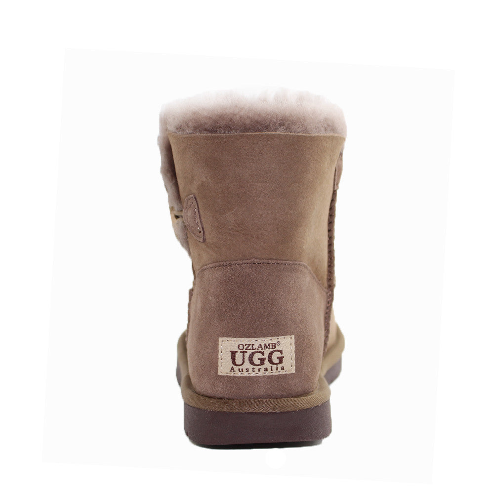 Classic One Button Ugg Boot - Mushroom