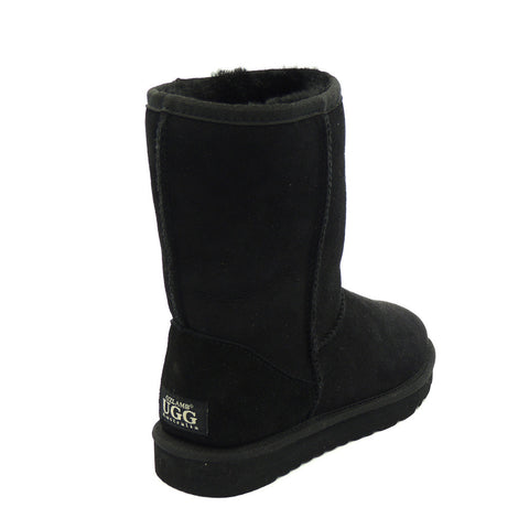Classic Medium Ugg Boot - Black