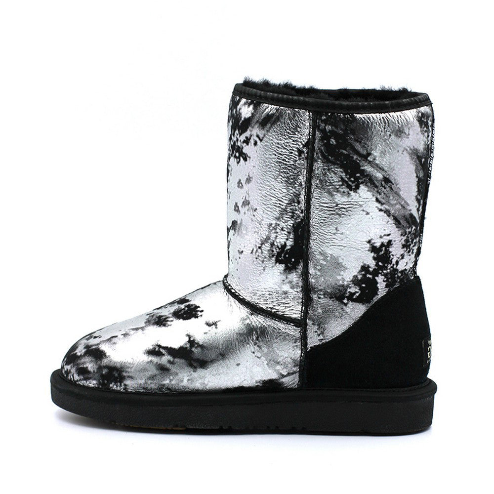 Dawnlight Medium Ugg Boot - Silver