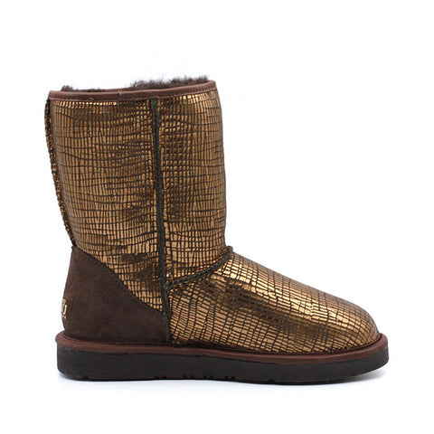 Elena Medium Ugg Boot - Chocolate