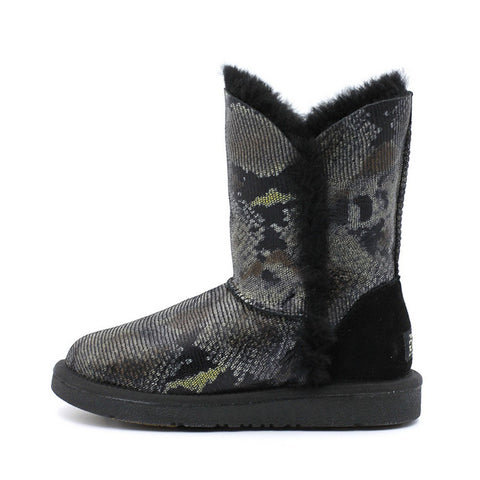 Marvella Medium Ugg Boot - Black