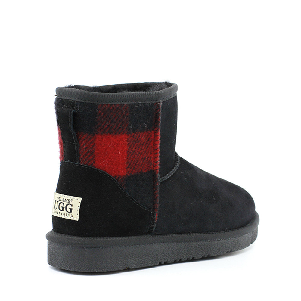 Carrick Short Ugg Boot - Black