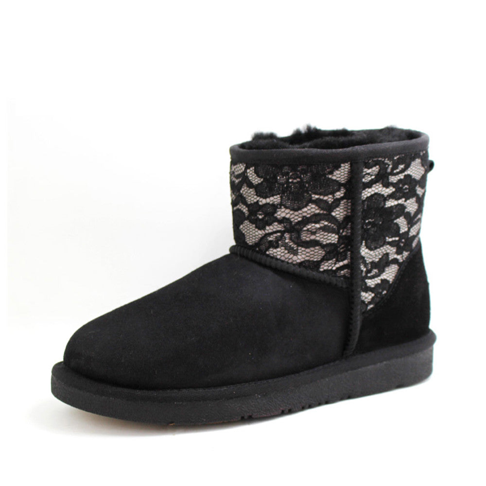 Jolie Short Ugg Boot - Black