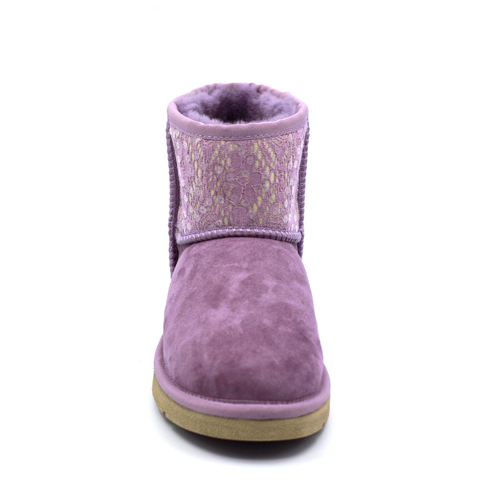 Jolie Short Ugg Boot - Purple