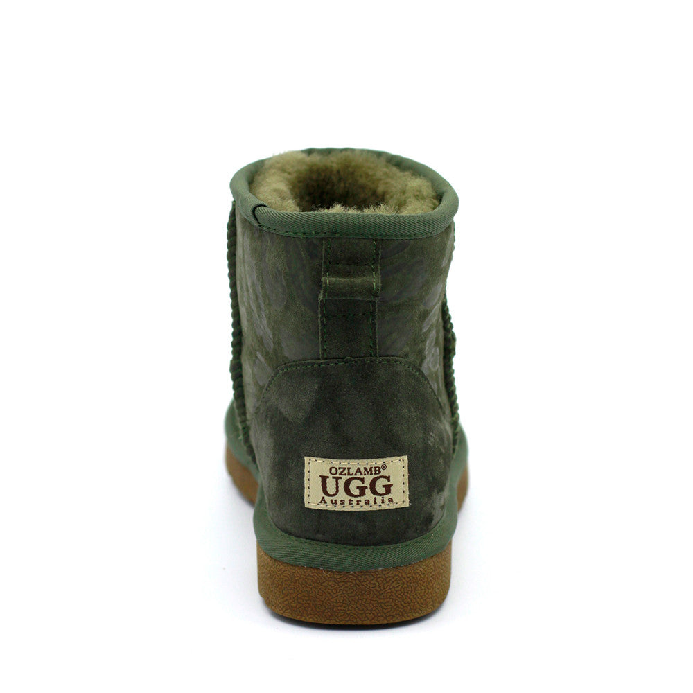 Leo Short Ugg Boot - Green