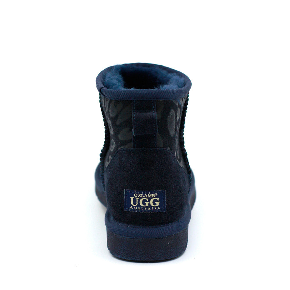 Leo Short Ugg Boot - Navy