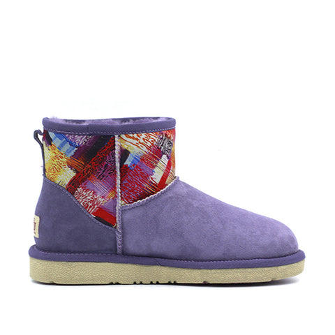 Sunnee Short Ugg Boot - Purple