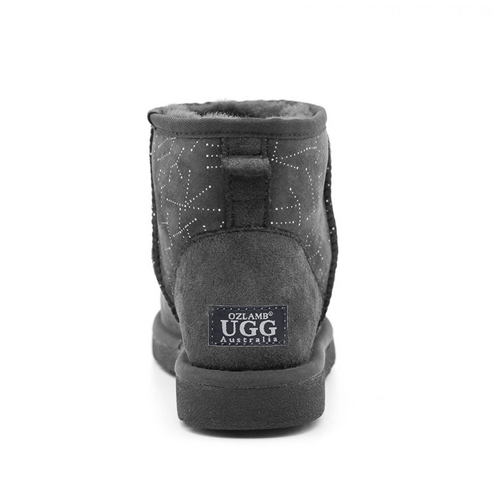 Starsky Short Ugg Boot - Grey