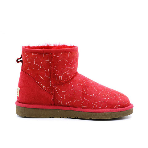 Starsky Short Ugg Boot - Red