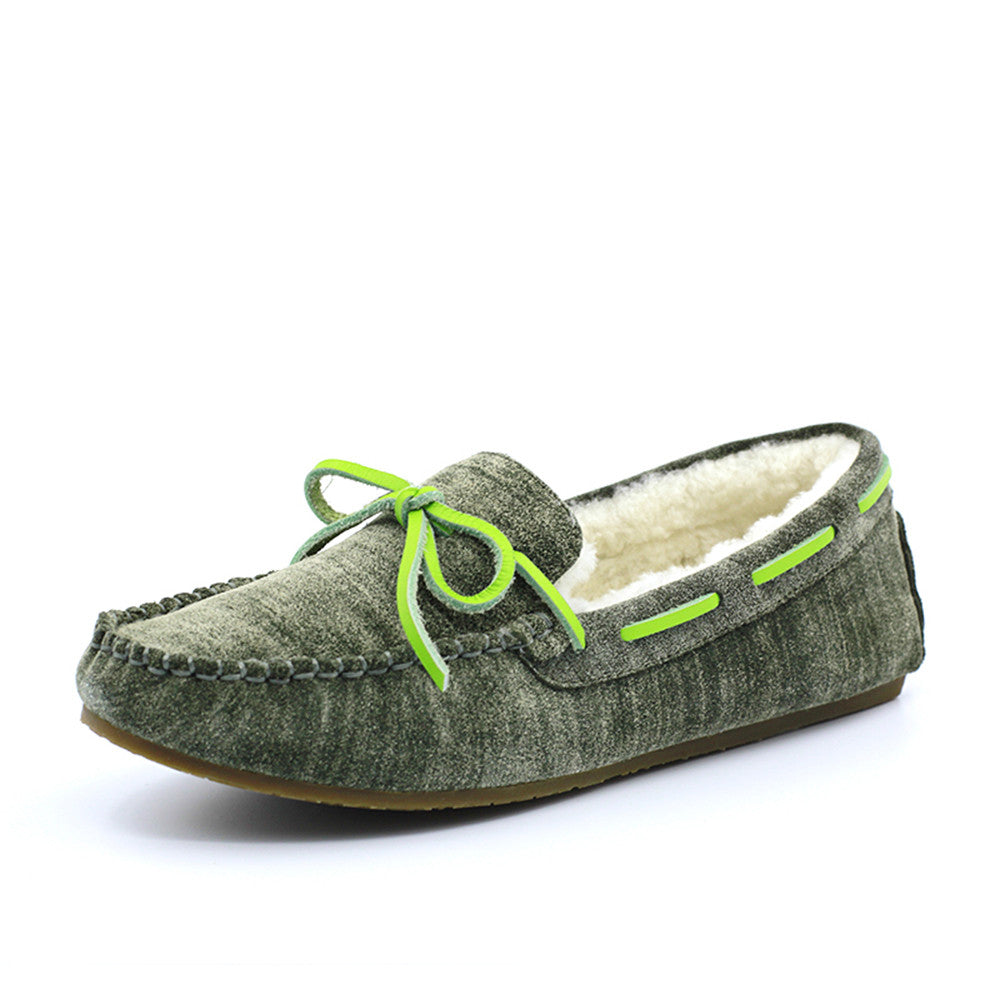 Amellia Moccasin - Army Green