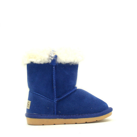Tara Crystal Kids Boot - Blue
