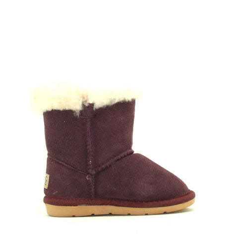 Tara Crystal Kids Boot - Purple