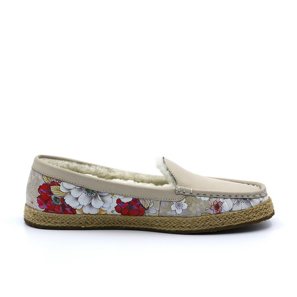Cindie Loafer - Buff