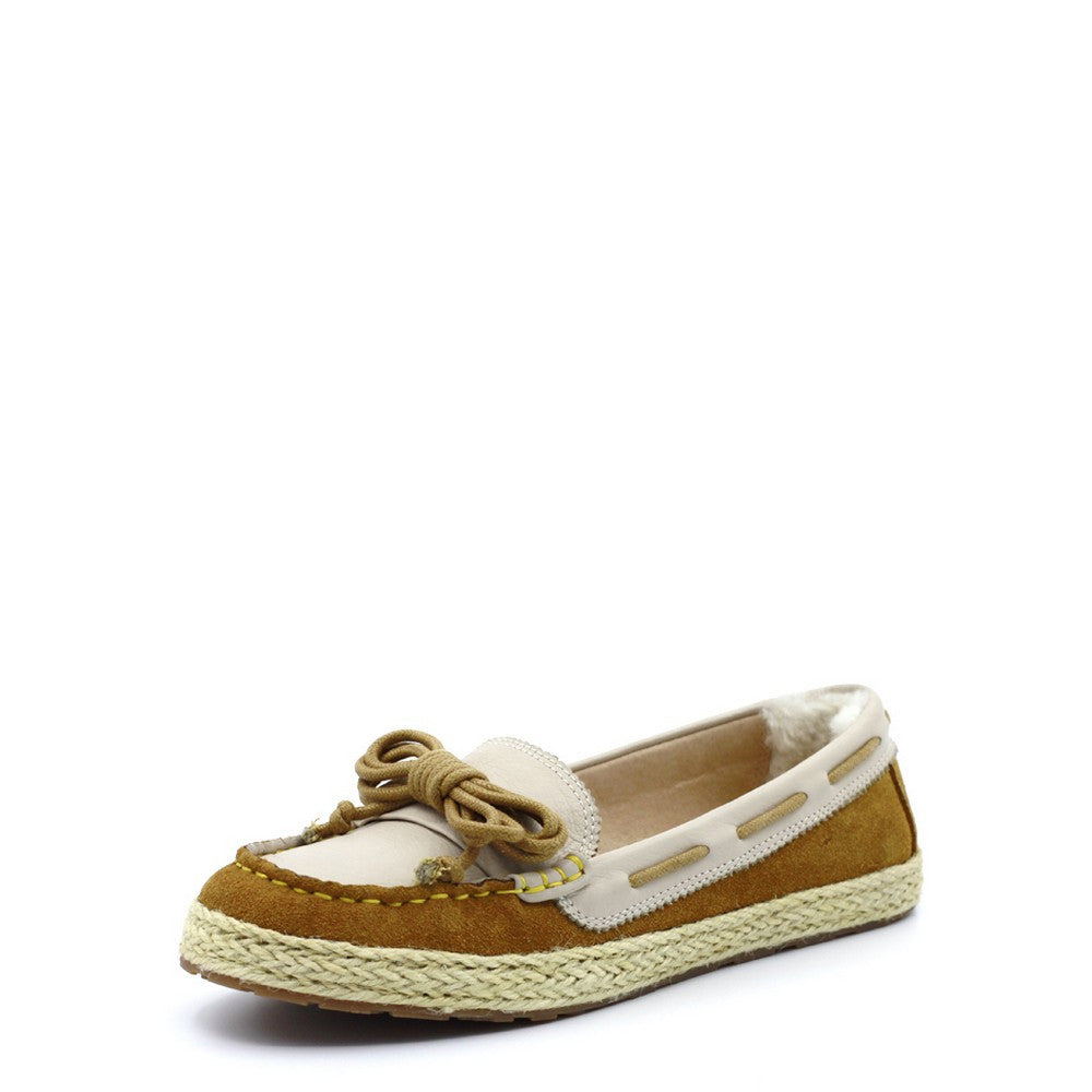 Trinity Knot Boat Shoes - Yellow