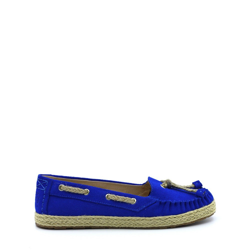 Lexy Deck Shoes - Blue