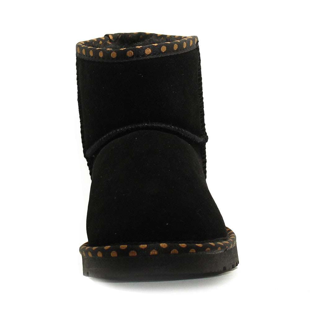 fb0c6152641 Spotted Ankle Ugg Boot - Black