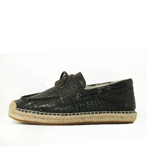 Costa Rica Croc Boat Shoes for Him - Croc Black