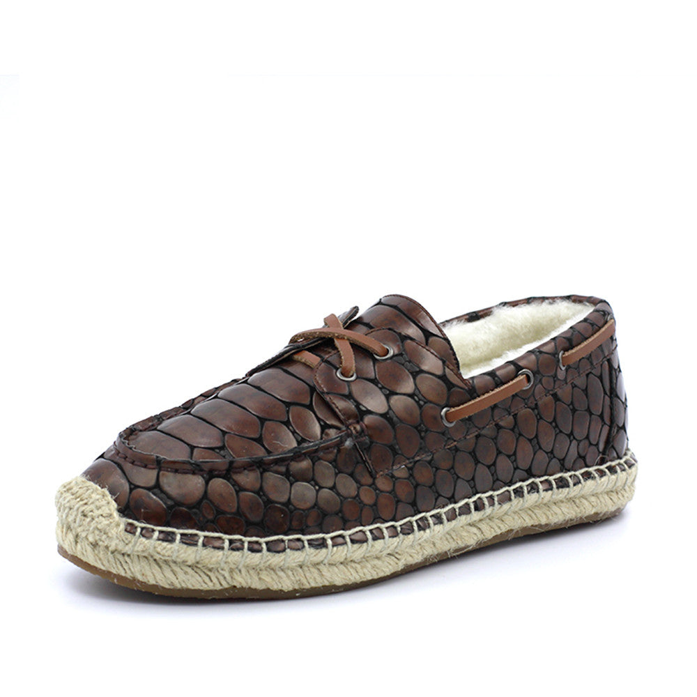 Costa Rica Croc Boat Shoes - Croc Brown