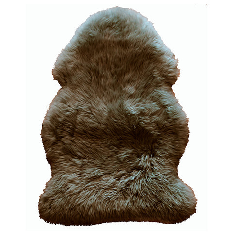 Natural Sheepskin Rug - Taupe