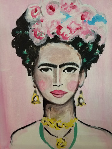 Painting Kit: Frida Kahlo
