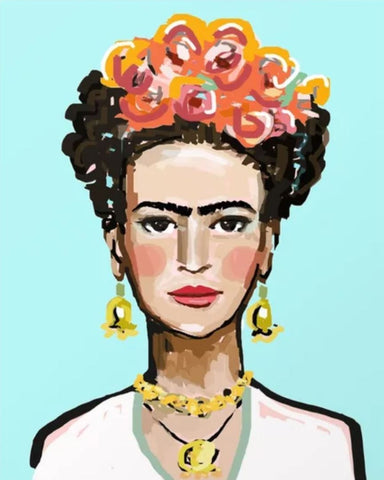 Paints and Pints: Frida Kahlo and Flower Crowns