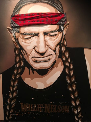 Paints and Pints: Willie Nelson