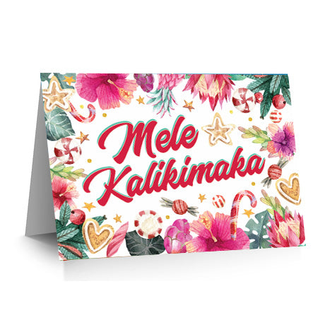 Mele Kalikimaka Holiday Sweets Card Set of 10