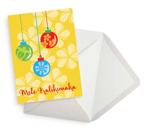 Mele Kalikimaka Holiday Card Set of 10