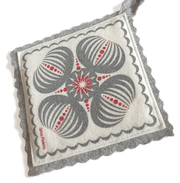 Sea Urchin Pot Holder/Trivet