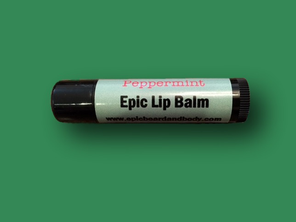 Peppermint Lip Balm - Epic Beard and Body