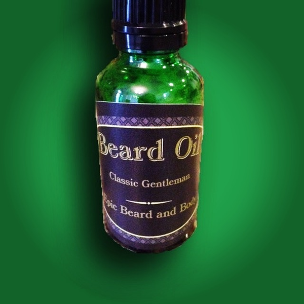 Classic Gentleman Beard Oil - Epic Beard and Body
